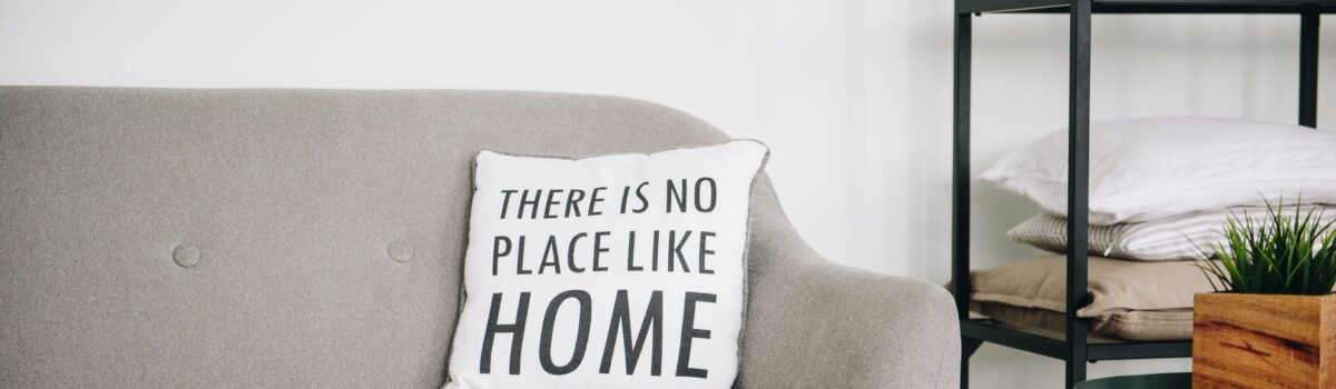 There is no place like home pillow